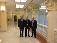 С коллегами из Казахстана и Башкортостана.