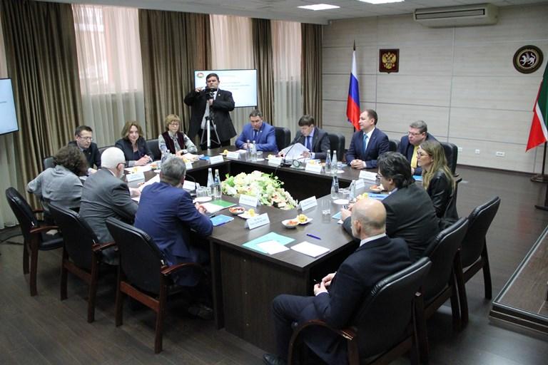 Встреча с с делегацией Конгресса местных и региональных властей Совета Европы (06 марта 2019 года)